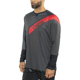O'Neal Stormrider Jersey Heren, black/red/gray